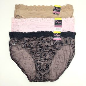 Olga Without A Stitch Lace Hi-Cut 3 Bundle
